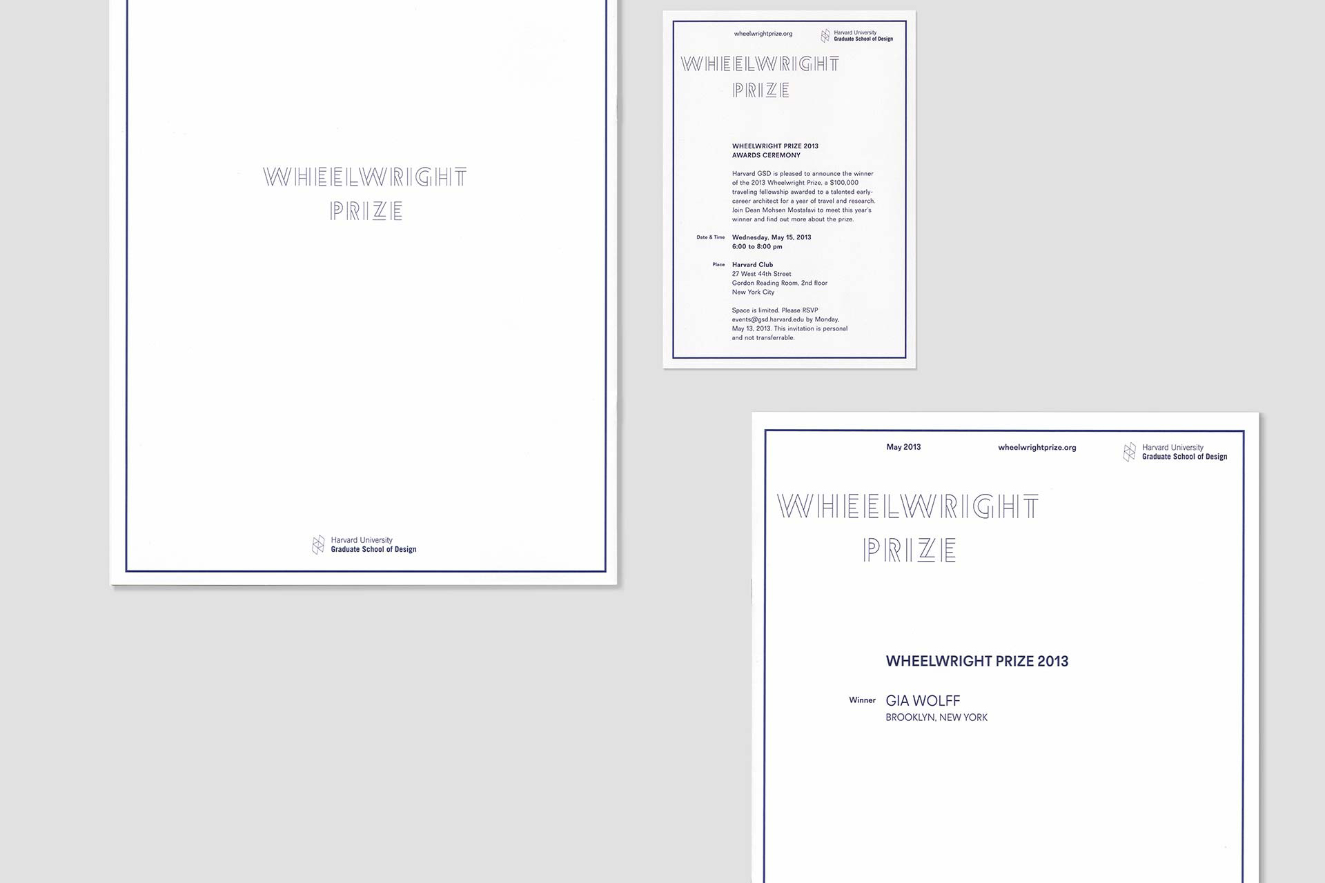 Wheelwright Prize